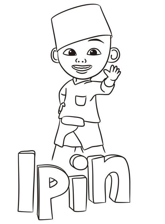 ipin-coloring-pages
