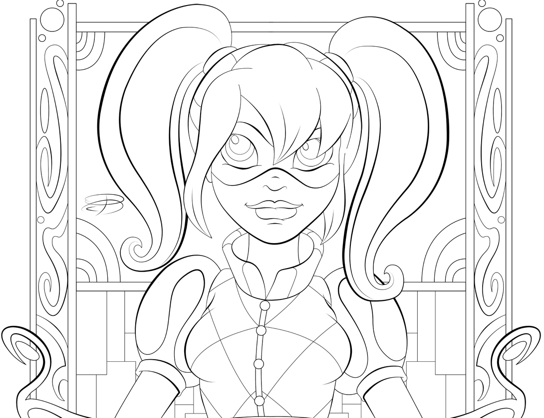 dc super hero girls coloring pages coloring pages for toddlers