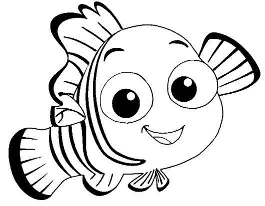 nemo-cute-fish-coloring-pages
