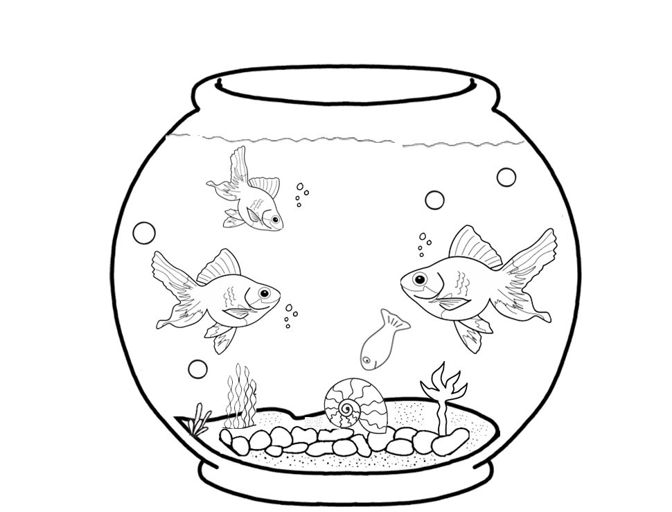 aquarium fish coloring pages coloring pages for toddlers