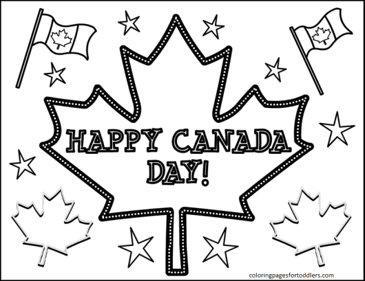 canada-day-coloring-pages