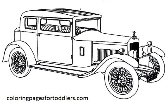 antique-car-unique-design-coloring-pages