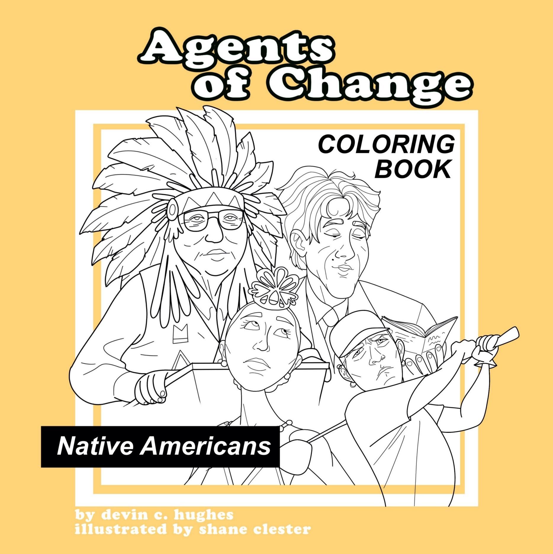 Native American Coloring Books