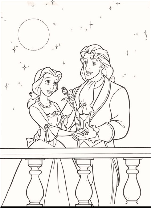 beauty-and-the-beast-before-transformed-coloring-pages