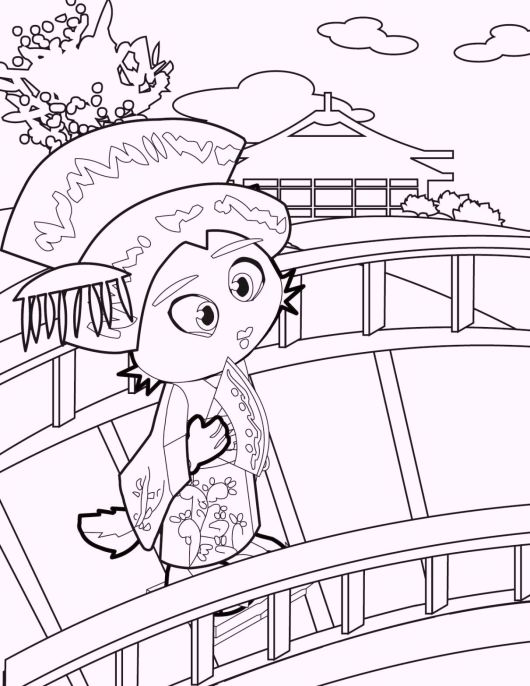chibi-geisha-coloring-pages