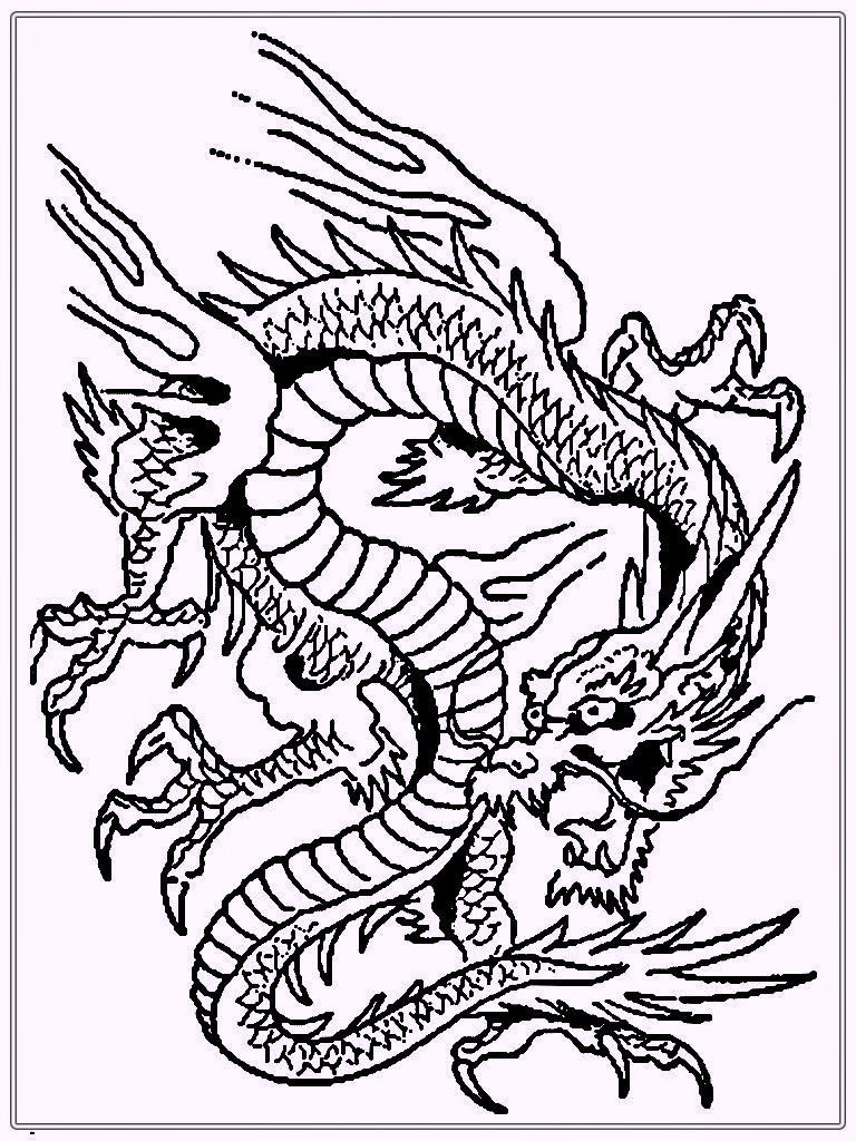 chinese dragon coloring pages to print coloring pages for toddlers