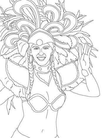 fashion-carnival-coloring-pages