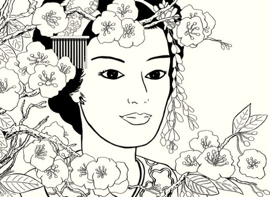 japanese-girl-coloring-pages