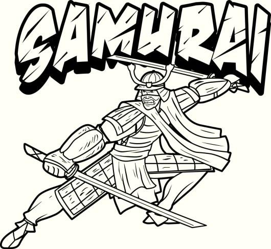 japanese-samurai-coloring-page