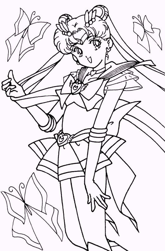 sailor-moon-pose-coloring