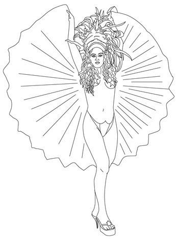samba-dancer-in-brazil-carnival-coloring-pages