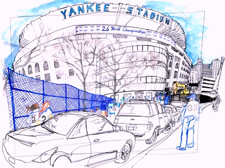 yankee-stadium-landmarks-coloring-pages
