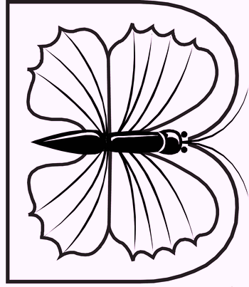 b-alphabet-butterfly-coloring-pages