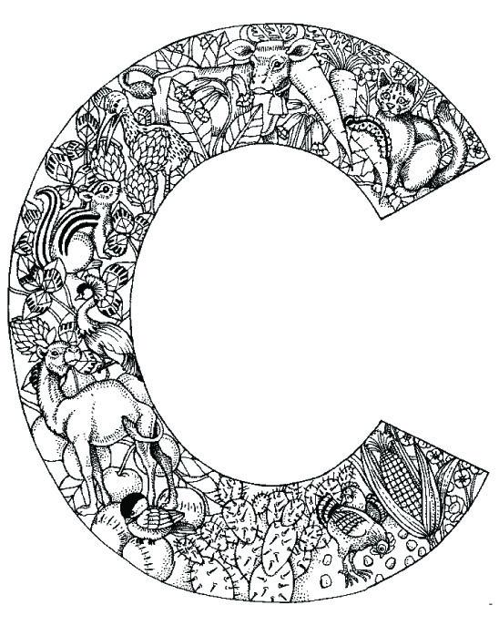 coloring_pages_animal_plant_abc_alphabet_C