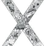 coloring_pages_animal_plant_abc_alphabet_X