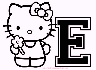 hello-kitty-alphabet-e-coloring-pages