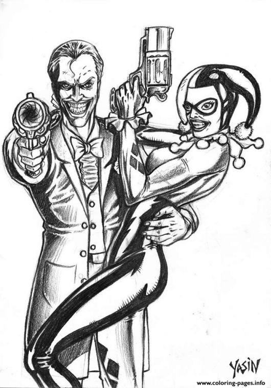 Harley-quinn-Mad-Love-Coloring-Pages