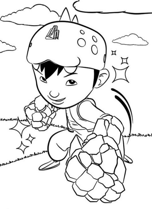 12 Printable Boboiboy Coloring Pages For Kids
