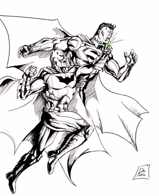 dc_comics_superhero_batman_vs_superman_coloring_pages