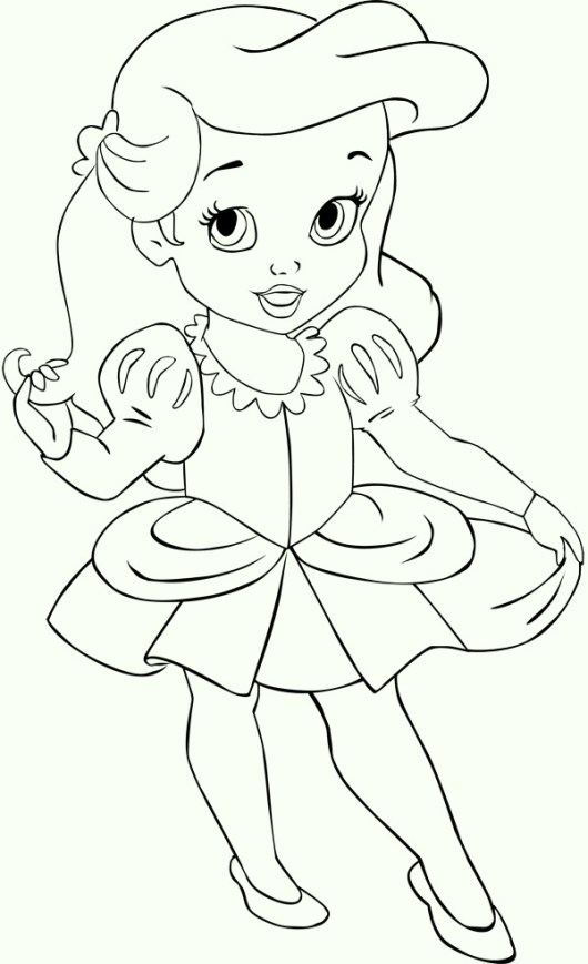 kids_ariel_the_little_mermaid_coloring_pages
