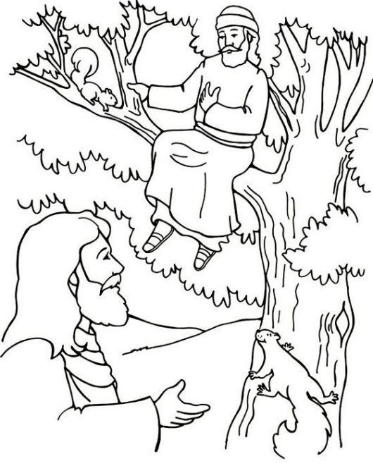 zacchaeus-tree-and-jesus-coloring-page