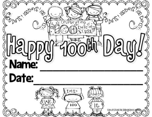 100th-day-of-school-coloring-page