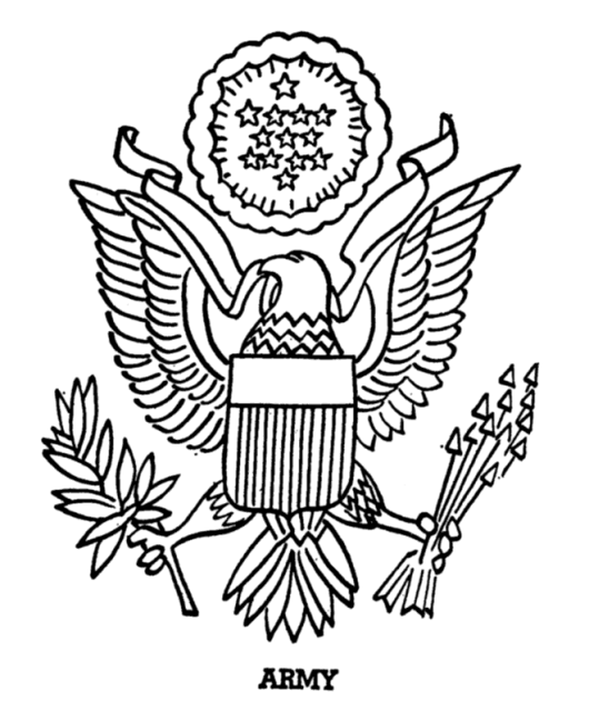 Army-symbol-and-Logo-Coloring-Pages