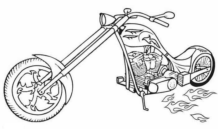 Hot wheels motorcycle