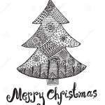 christmas-tree-zentangle-coloring-page