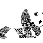 panda_zentangle_coloring_picture