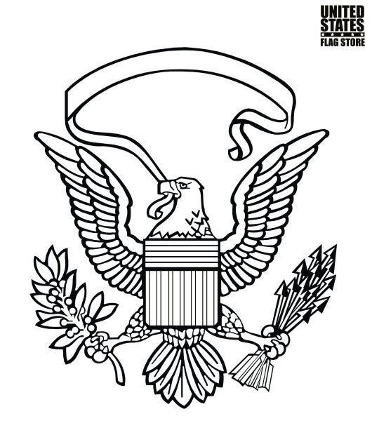 us-symbol-coloring-pages