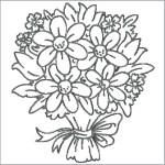 wedding-flower-bouquet-coloring-picture