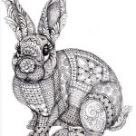 zentangle-rabbit-coloring-page-printable