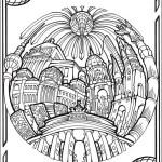 Landmarks-Circular-Cities-Coloring-Book