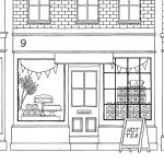cafe-in-london-coloring-page