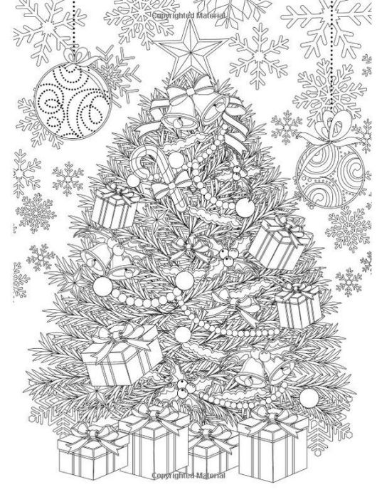 christmas-tree-and-accessories-coloring-book