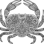 mandala-crab-coloring-picture-to-print
