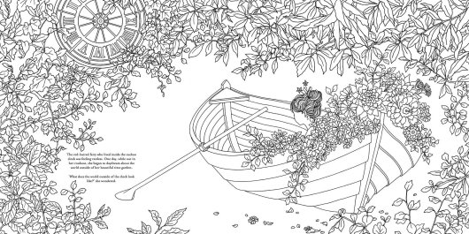 the-Time-Chamber-a-mystical-rowboat-coloring-book