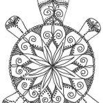 turtle-mandala-coloring-online