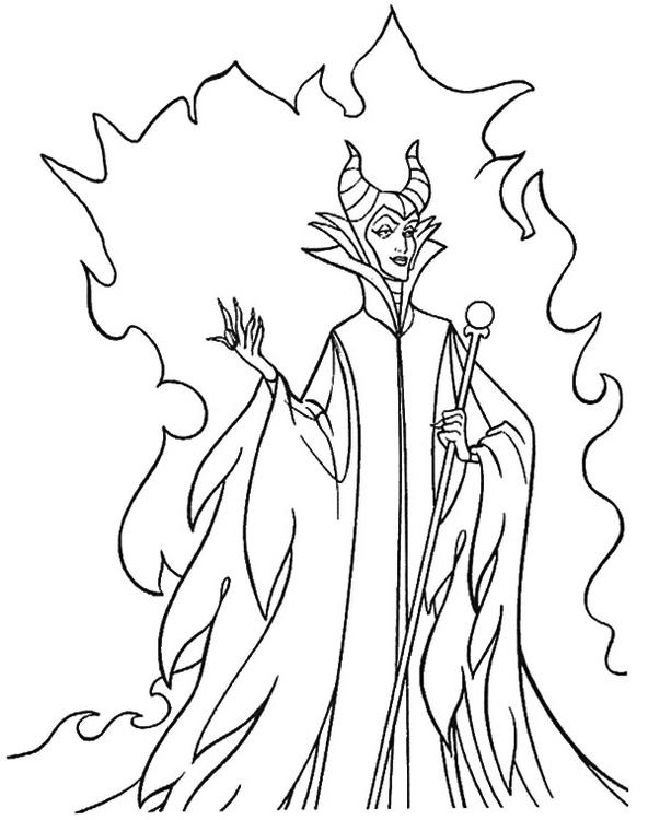 Disney-Villains-coloring-page