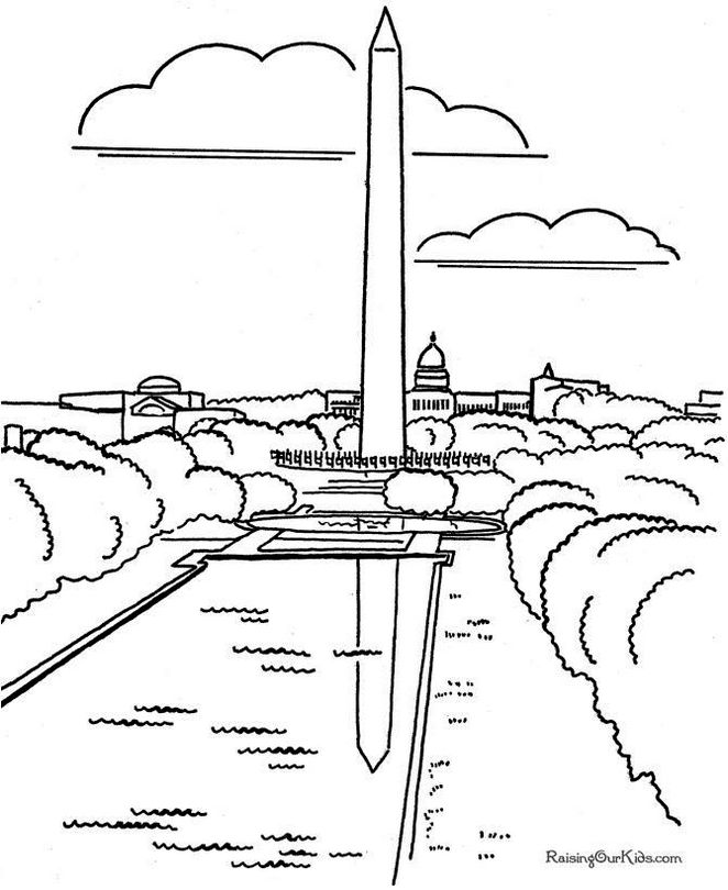 Washington-Monuments-Coloring-Page-to-print