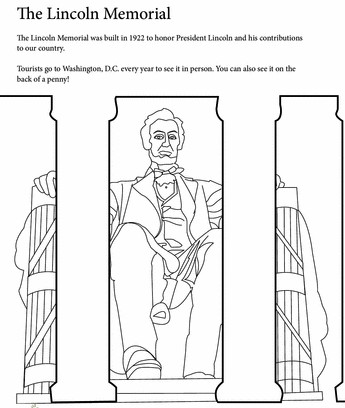 lincoln-memorial-coloring-sheet