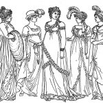vintage-gowns-coloring-pages-to-print