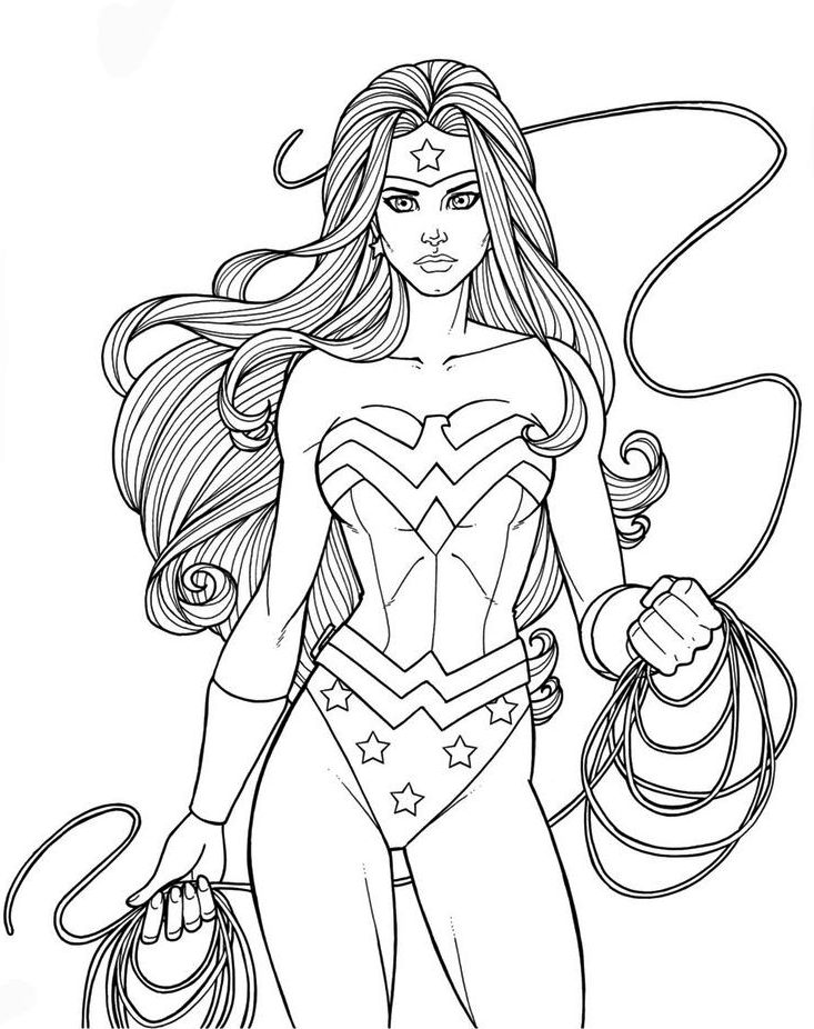 Gal-Gadot-Wonder-Woman-Coloring-Pages