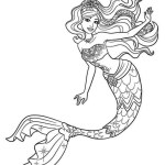 Realistic-the-mermaid-coloring-page-ariel