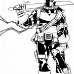 Printable Deathstroke Vs Deadpool