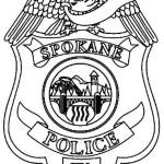 spokane-police-badge-coloring-page