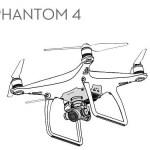 DJI Phantom 4 Drone Coloring Page To Print