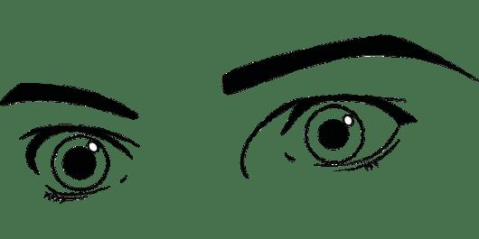 Eyes Coloring Sheet