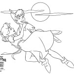 Peter Pan Disney Coloring Page Printable